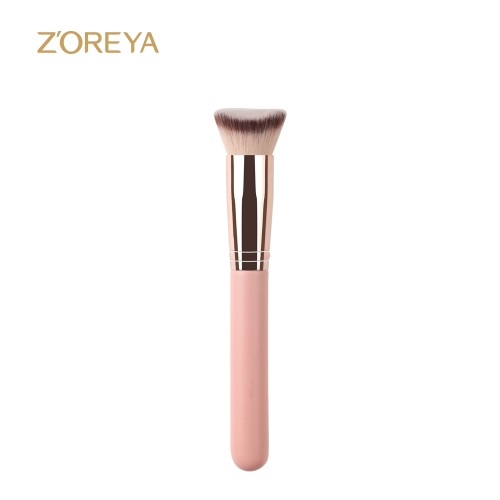 Rosegold Pink Handle Contour Brush